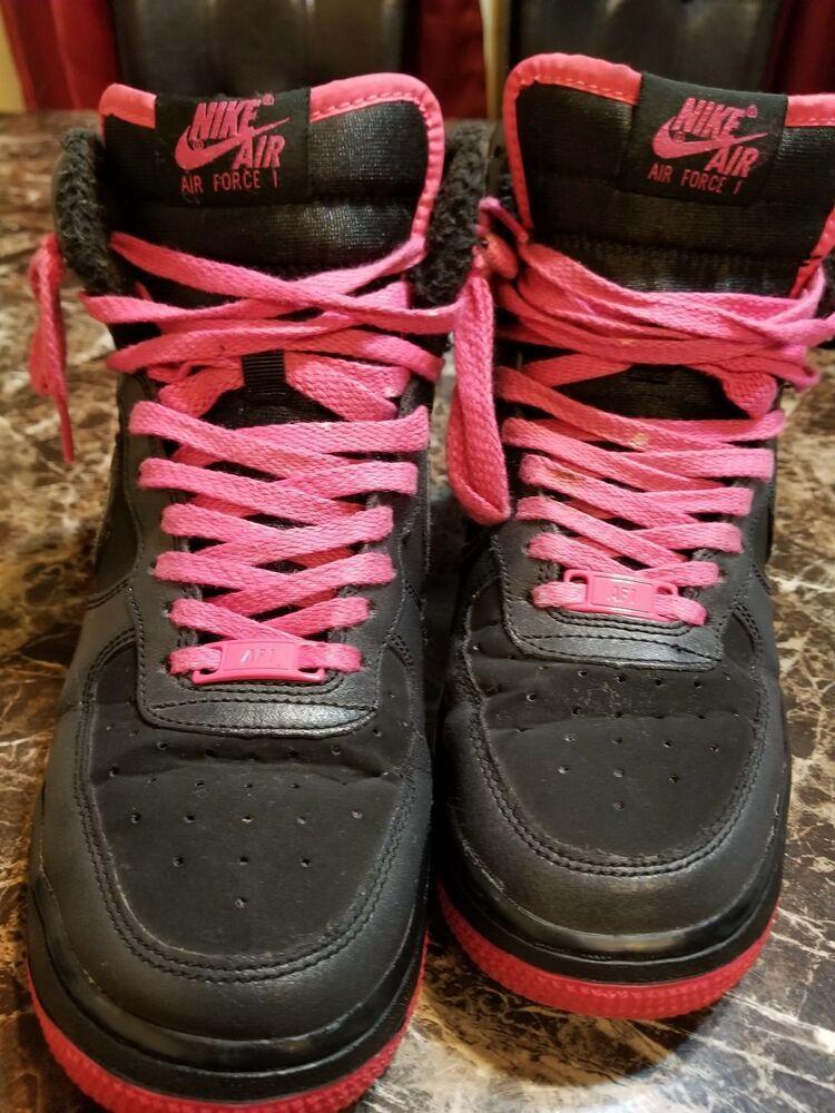 Air Force 1 High LV8 sz 6y color black/pink 80762701016