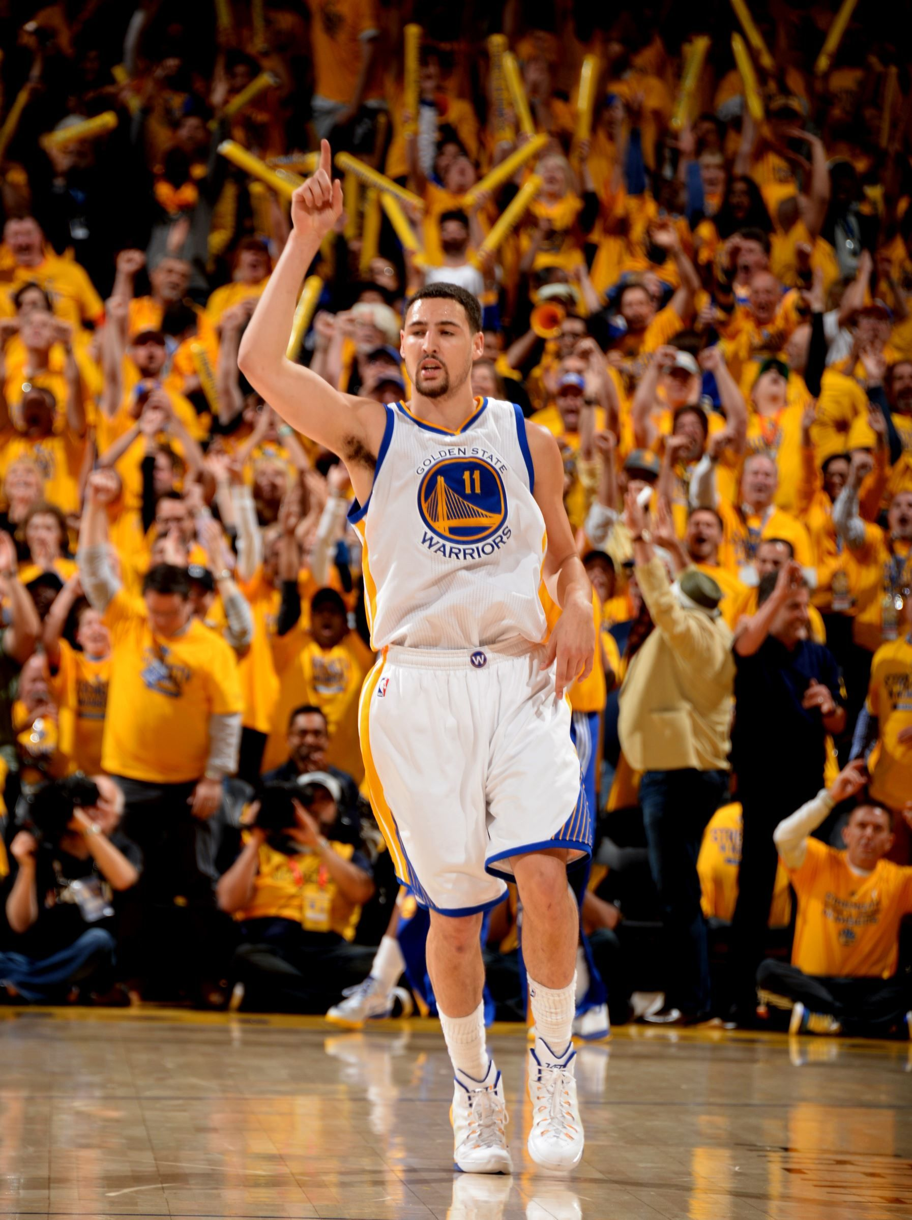 c39bbfadb Here s a weird thing people have noticed  Golden State Warriors guard Klay  Thompson has a familiar face … but who does he look like