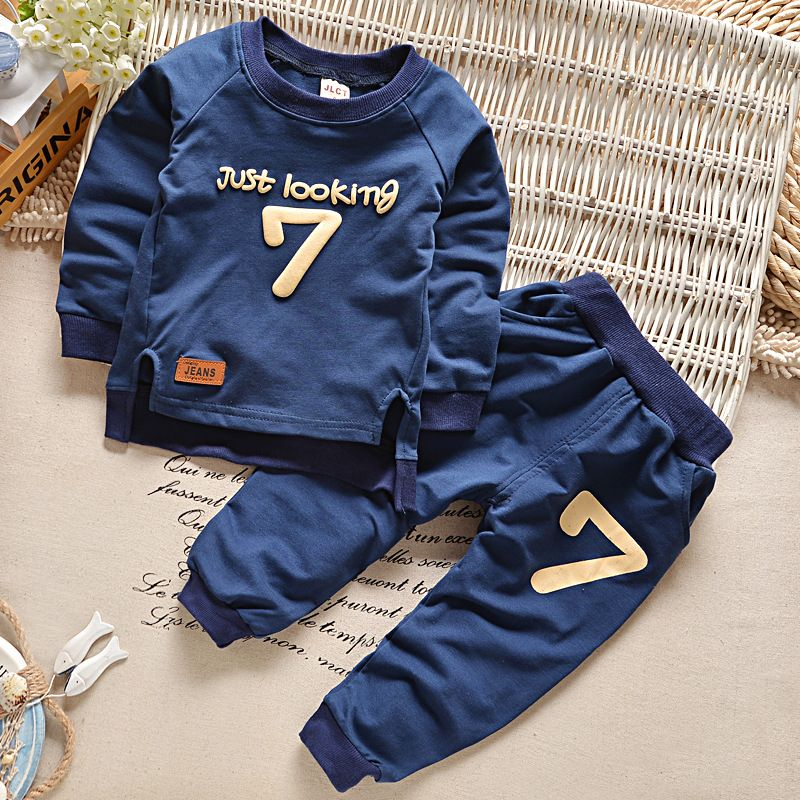 e2edeb6f7818 2017 Autumn Winter Baby Boy Girl Clothing Set Infant Baby Boy Kids ...