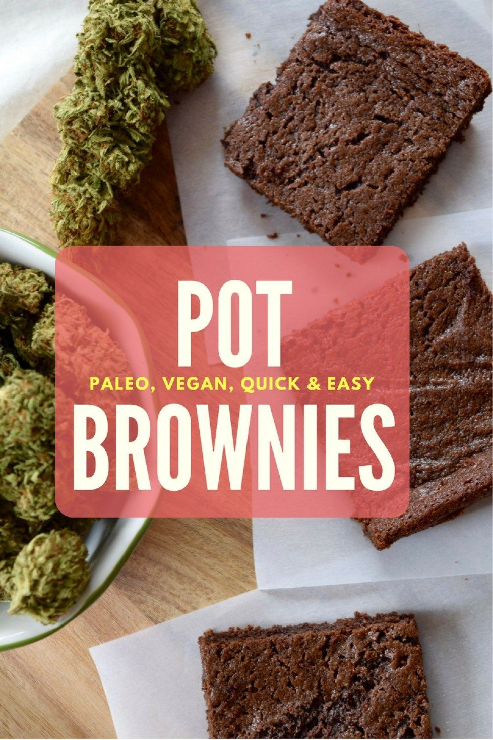 healthy weed brownies easy and delicious paleo pot brownies
