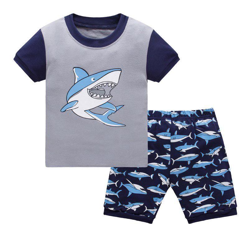 71717f2f3 2018 Summer Spring Cartoon Baby Boys Girls Kids Childrens Pijamas short  Sleeve Cotton Pyjamas Sleepwear Pajamas Clothing Sets. Yesterday's price:  US $7.80 ...