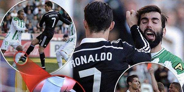 Os melhoresmemesdaexpulsãode Cristiano Ronaldo