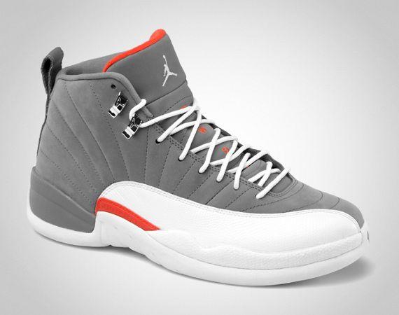 Air Jordan XII - Cool Grey/White - Team Orange | Release Info