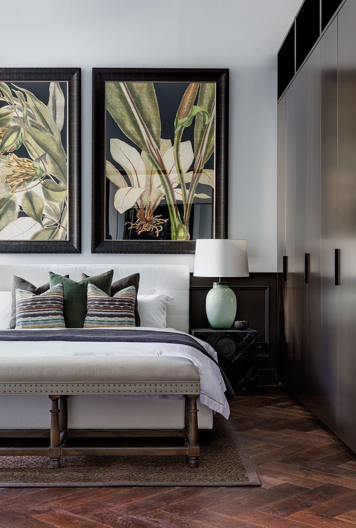 Elegant bedroom interior design property styling  rushcutters bay  arte rinata  pinterest