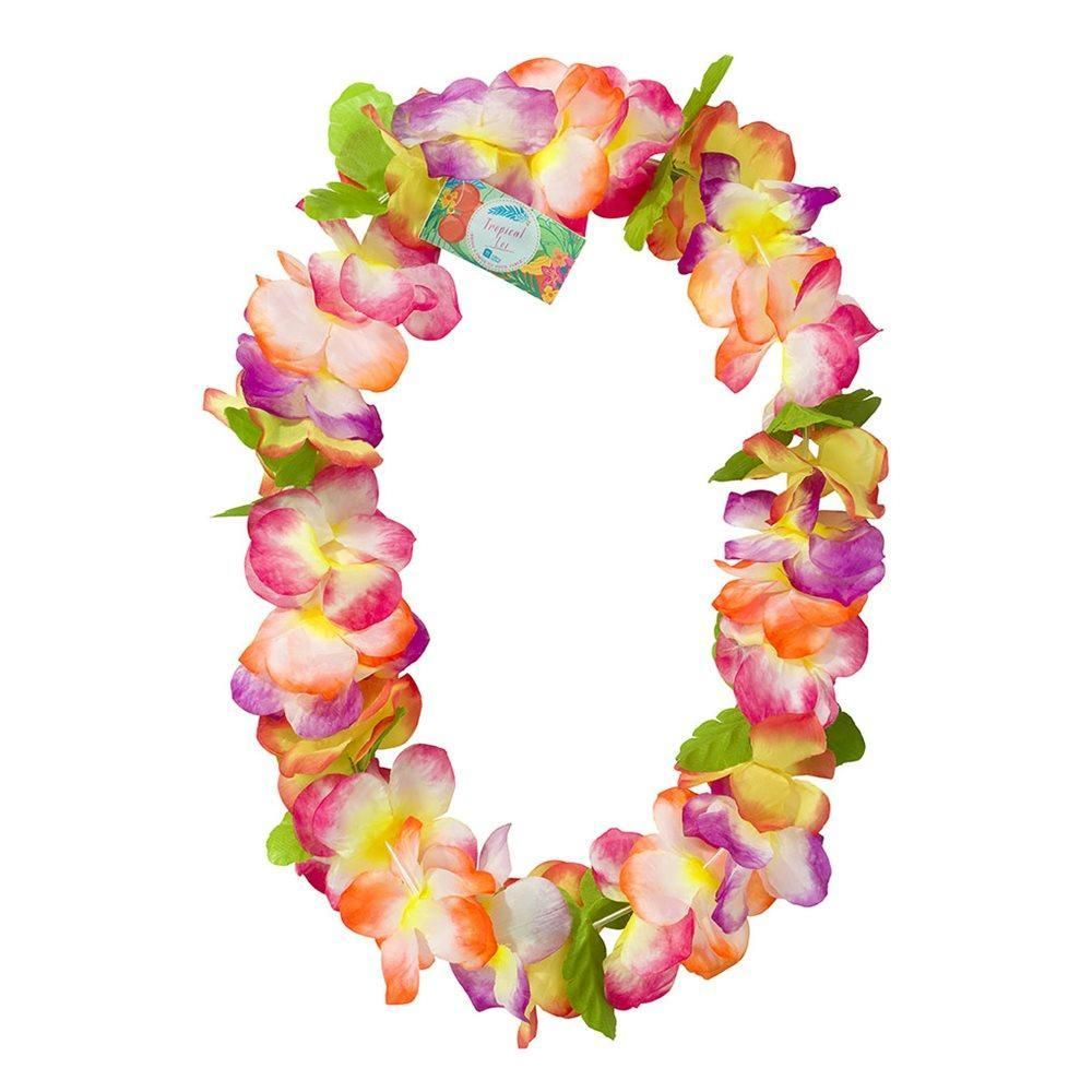 Carnival fiesta lei floral necklace products pinterest flower carnival fiesta lei floral necklace izmirmasajfo