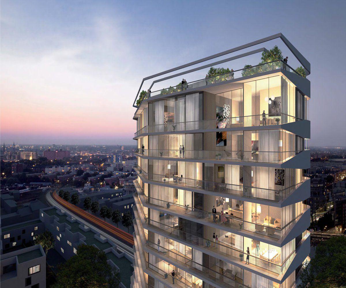 rkm 740 wohnhochhaus d sseldorf ksp j rgen engel architekten zuk nftige projekte hochhaus. Black Bedroom Furniture Sets. Home Design Ideas