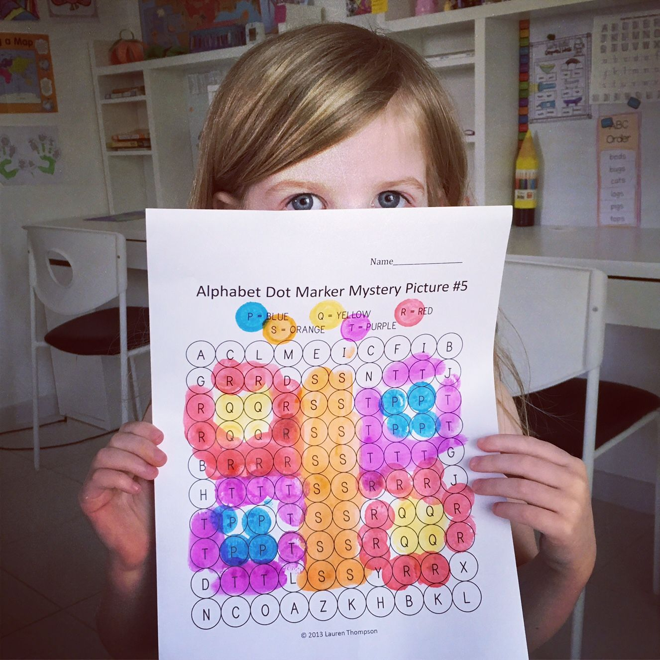 Letters Amp Numbers Bundle Dot Marker Activities