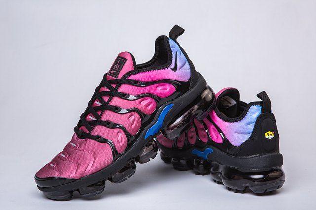 Nike Air VaporMax Plus TN Purple Burgundy Blue Men s Running Shoes ... 1481307e0