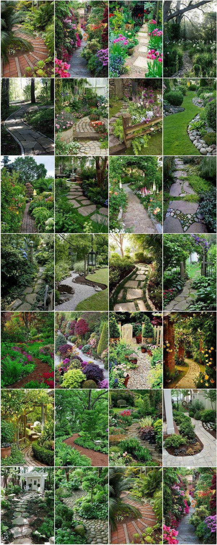 Photo of 25 Stunning Garden Paths — #StyleEstate
