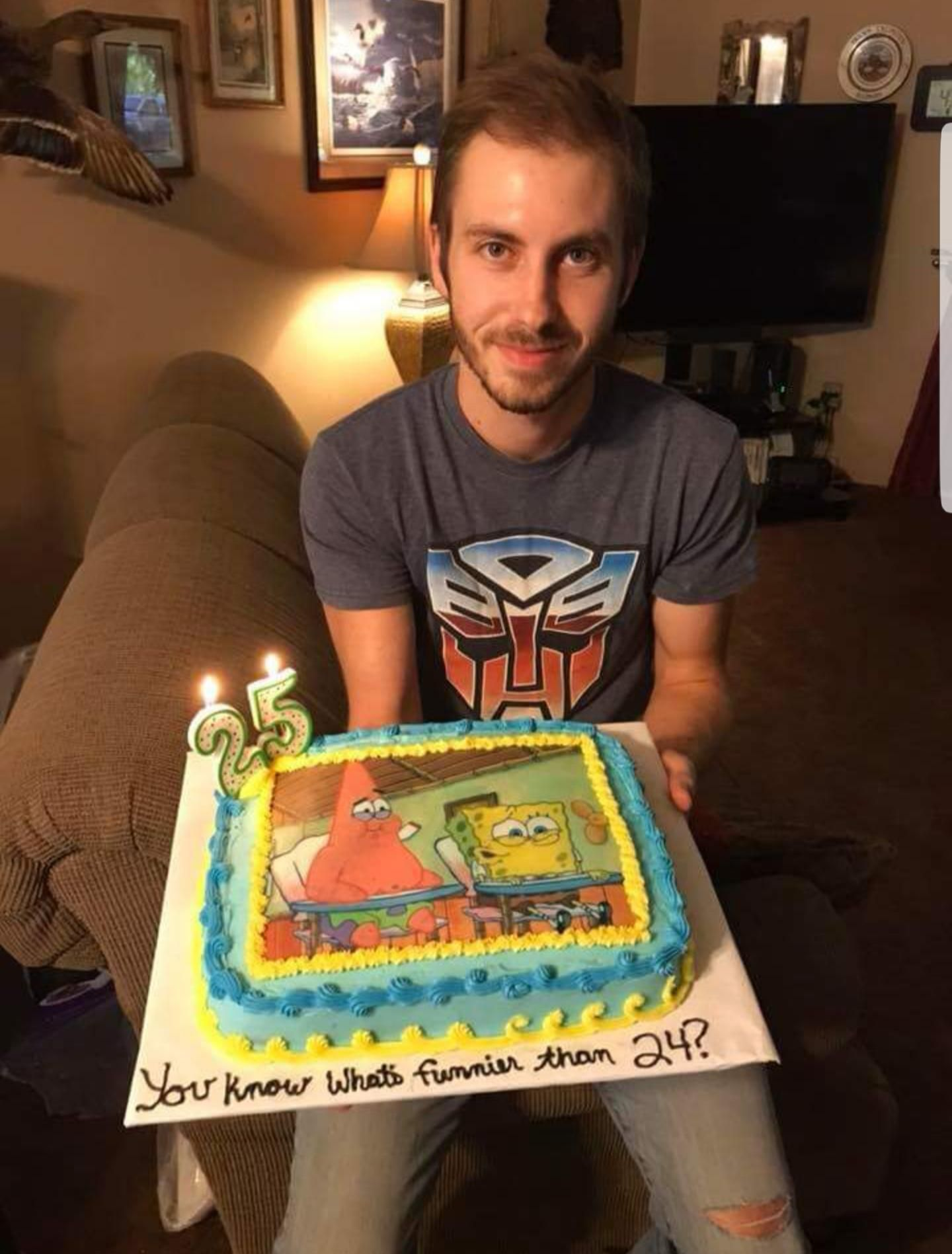What S Funnier Than 24 With Images Spongebob Birthday Cake