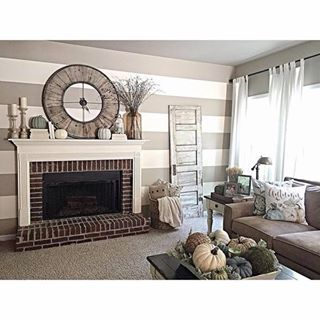 Balanced Beige Sw 7037 Neutral Paint Color Sherwin Williams Fireplace Mantle Decor Balanced Beige Neutral Fall Decor