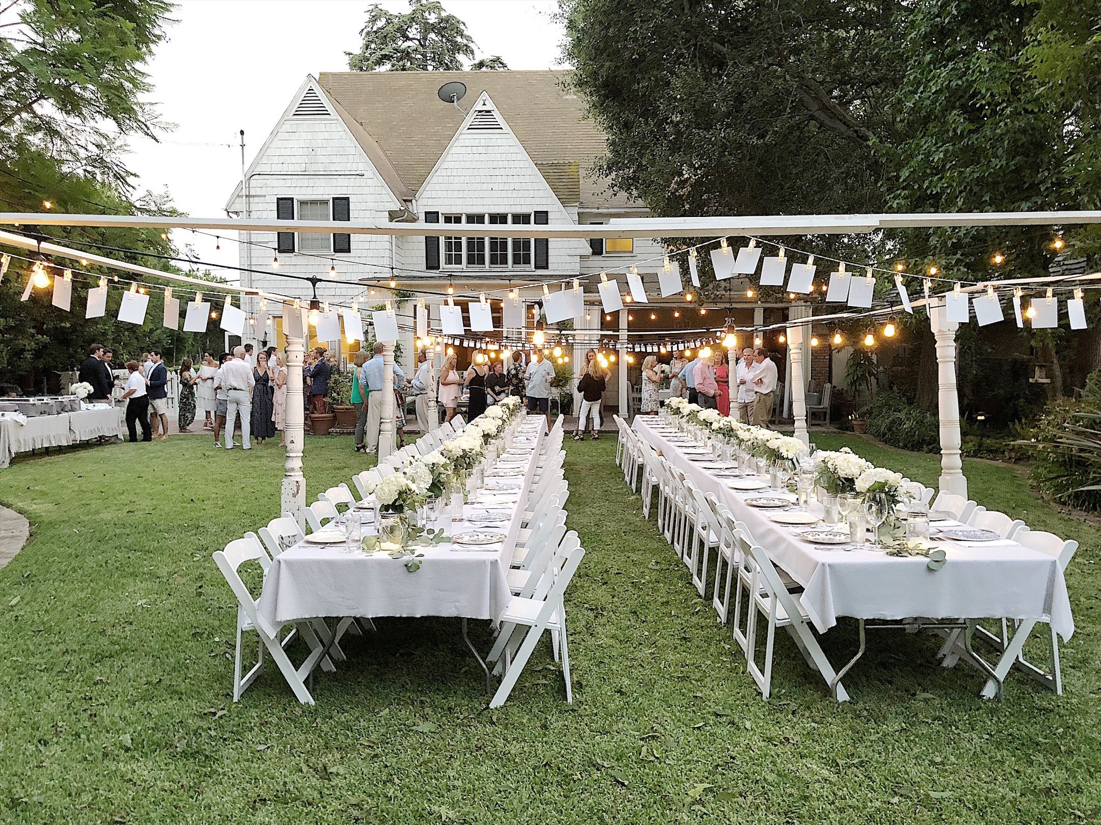 How To Plan The Party Of Your Dreams Backyard Engagement Parties Outdoor Engagement Party Outdoor Dinner Parties Diy backyard engagement party