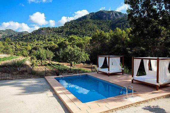 Romantisches Ferienhaus mit Pool auf Mallorca für bis zu 6
