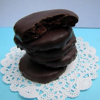 Homemade Girl Scout Thin Mints!!