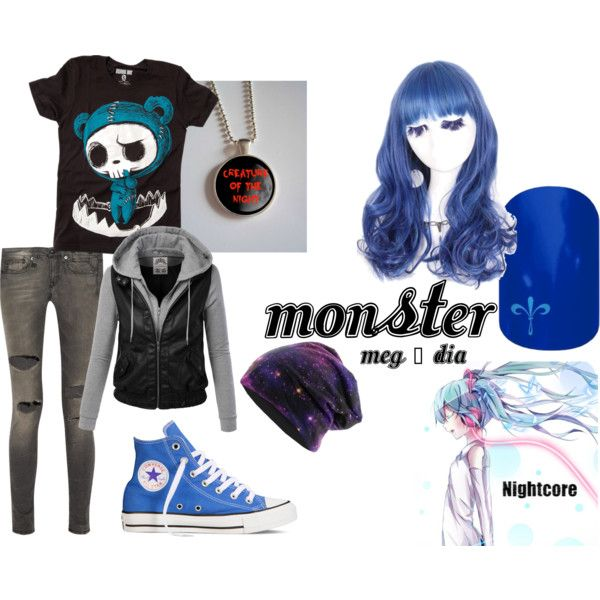 """""""Monster (Meg & Dia)"""" by fangirlcertified786 on Polyvore"""