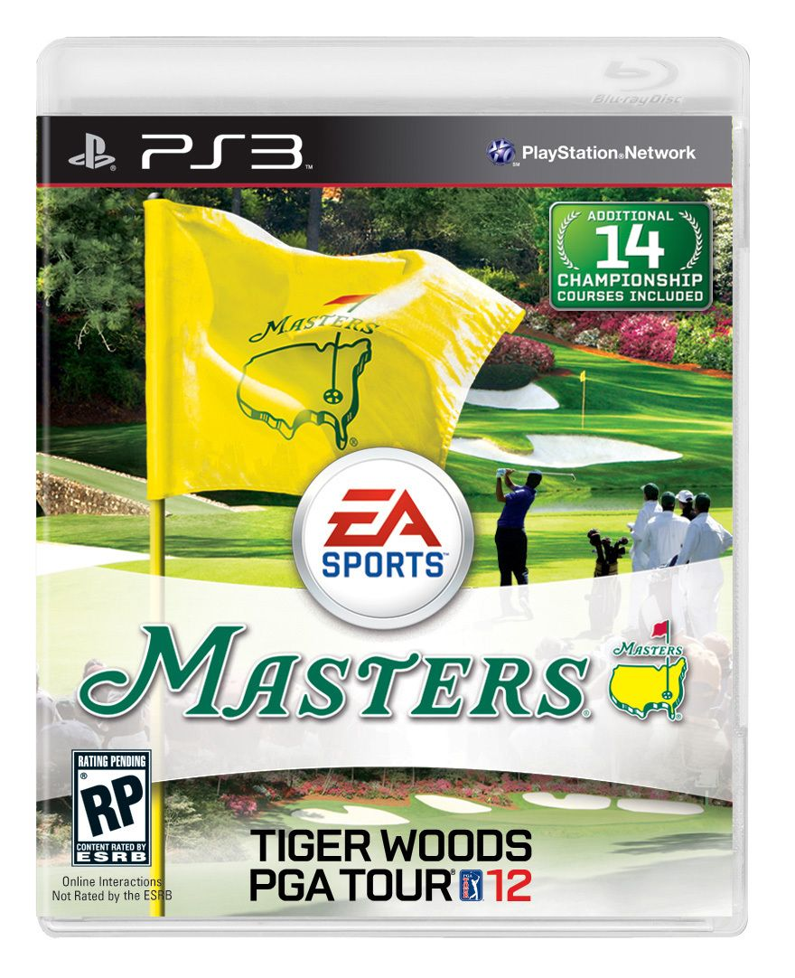 Tiger Woods PGA Tour 2012 imagens)