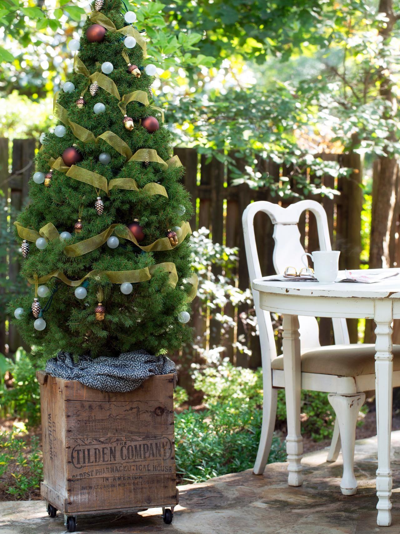 Mobile Christmas Trees | Christmas tree, Crates and Tree skirts