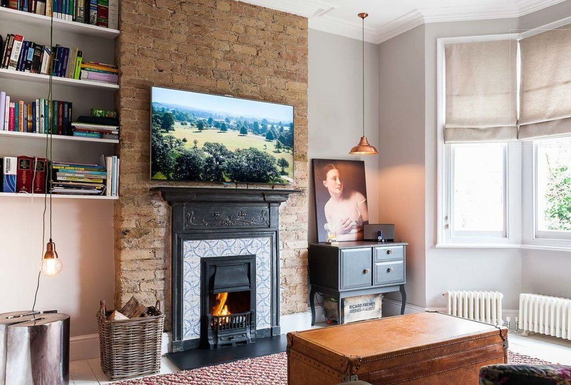60 Awesome Brick Fireplace Ideas - Home Decorating ...