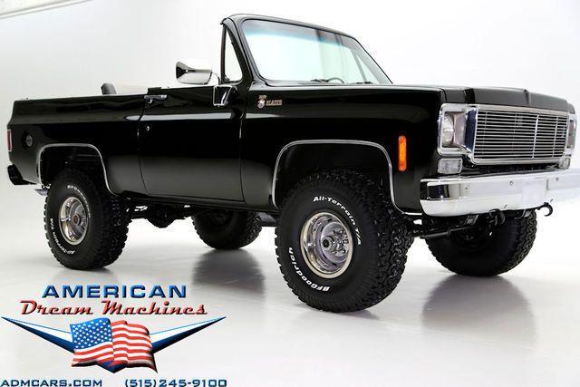 1975 K 5 Blazer The Last Year Of The Full Convertible Yes Please Chevrolet Blazer Trucks Chevrolet Trucks