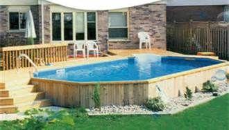 Above Ground Pools Decks Idea Bing Images Backyard Pool Designs Backyard Pool Best Above Ground Pool