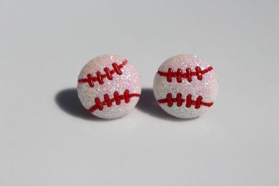 Sports Earrings ** Baseball **