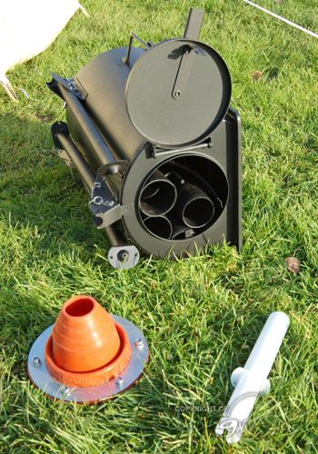 Frontier Stove - The Truly Portable Wood Burning Stove & Frontier Stove - The Truly Portable Wood Burning Stove | camping ...