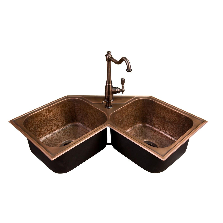 33 Fayette Double Bowl Drop In Granite Composite Sink Cream Kitchen
