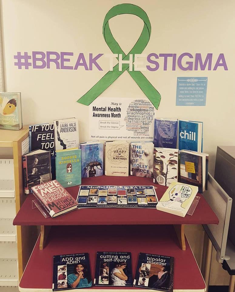 Mental Health Awareness Month Display | Health awareness ...