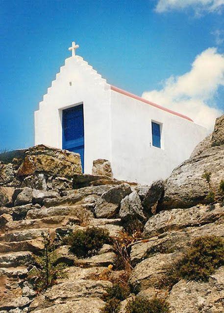 Une maison grecque avec vue imprenable sur la Méditerranée