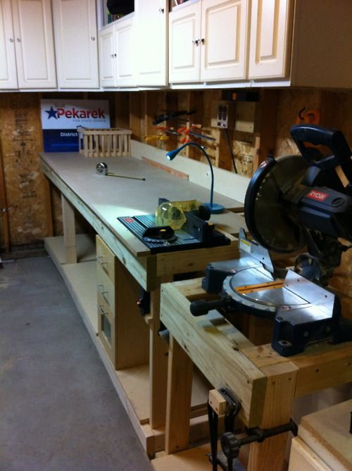 Pin By Charles Lide On New Home Projects Workbench Workbench Plans Mitered
