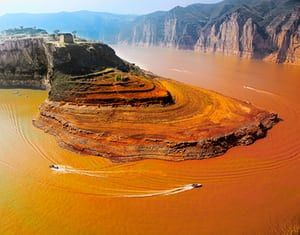 Image result for yellow river silt