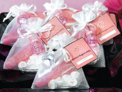 Bachelorette Party Gift Bags Lip Gloss A Heart Shaped