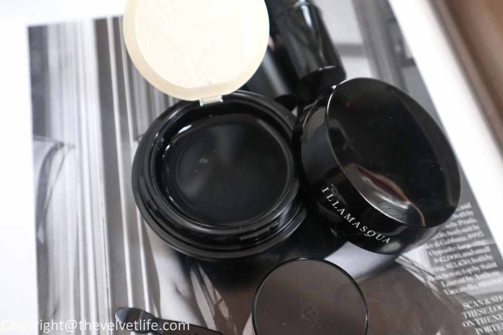 Illamasqua Beyond Foundation Highlighter Review The Velvet Life Color Veil Luxury Makeup Glass Skin