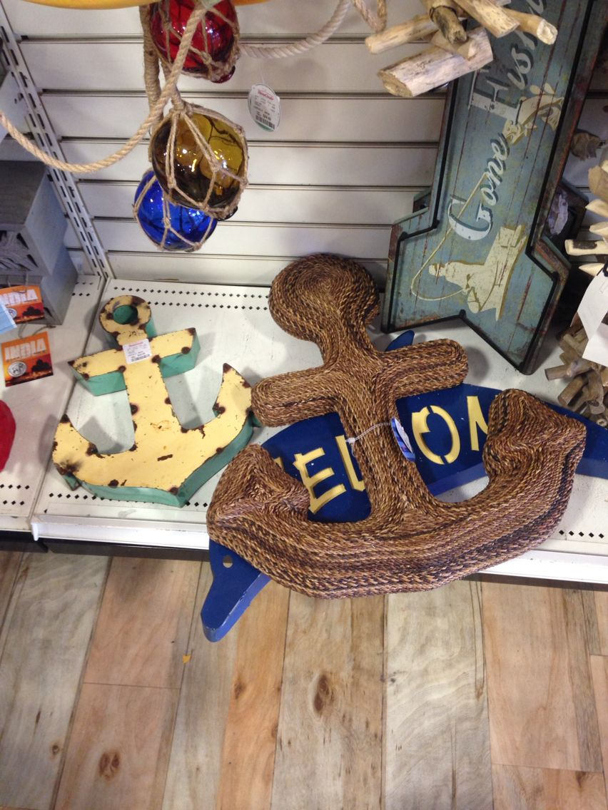 TJ Maxx home goods has a ton of nautical themed items from decorations to  storage. TJ Maxx home goods has a ton of nautical themed items from