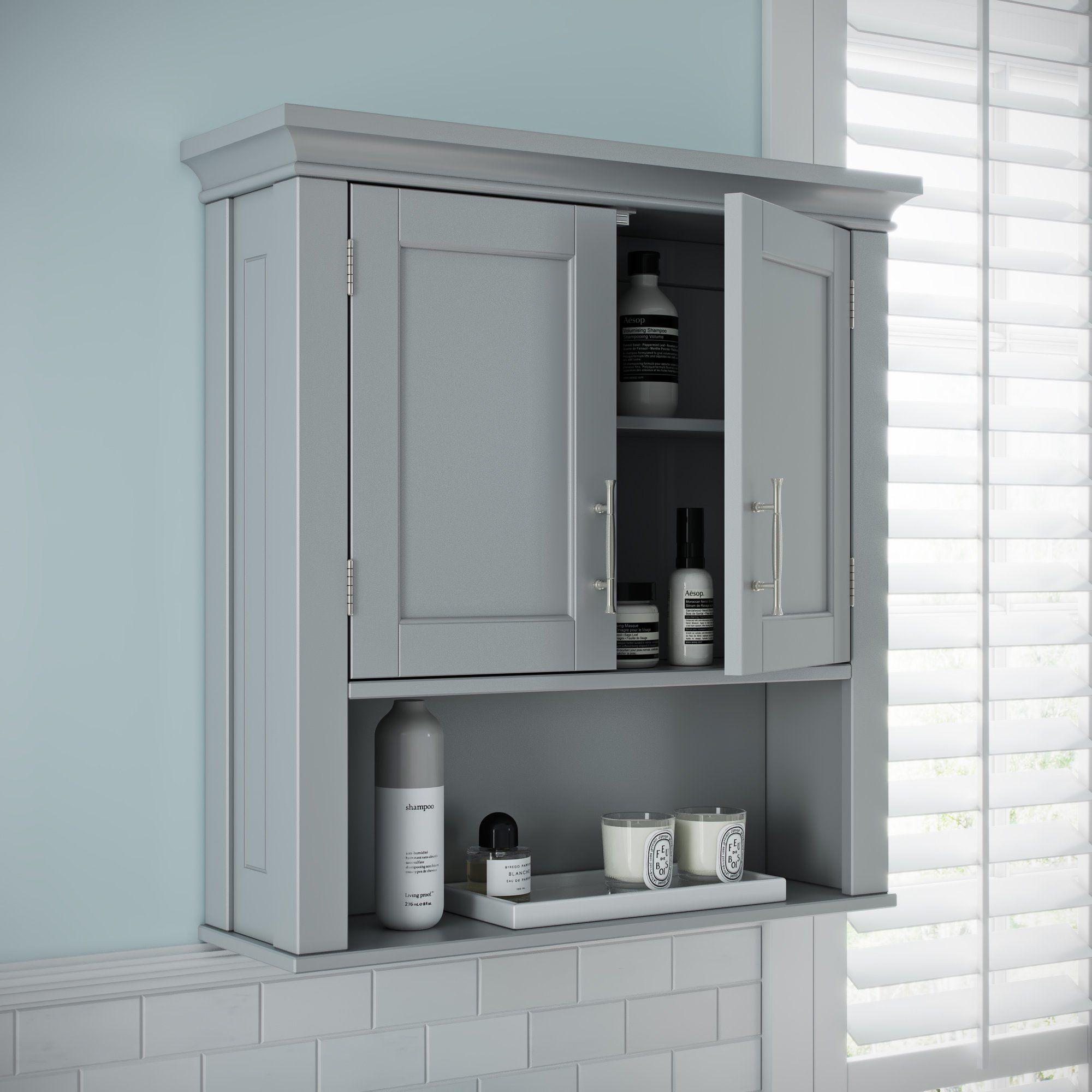 39++ Bathroom wall cupboard grey inspiration