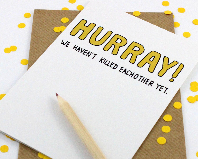 Custom listing etsy funny anniversary cards
