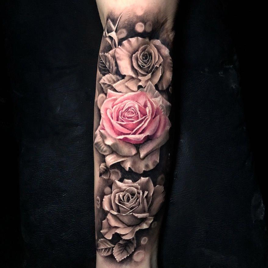Full Sleeve Tattoo Designs Drawings Fullsleevetattoos Rose Tattoo Sleeve Rose Tattoos For Women Tattoo Sleeve Designs