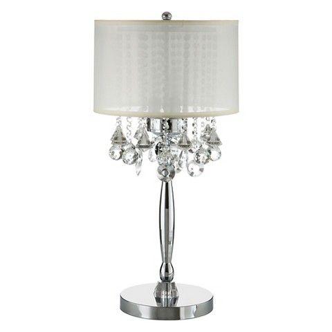 Brigitte Crystal Drop Table Lamp