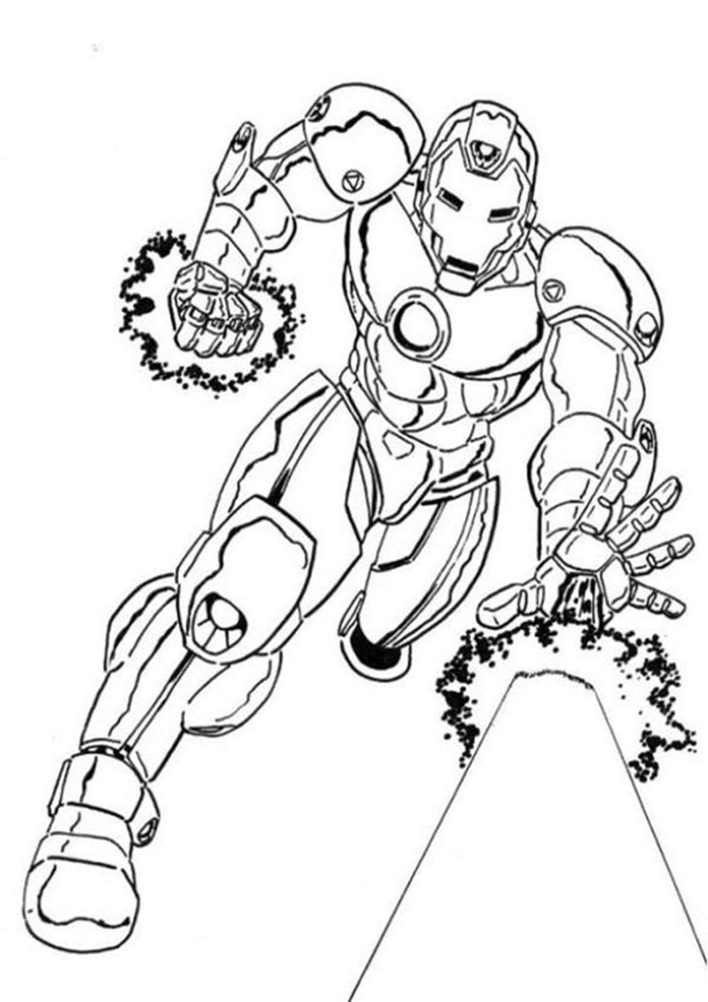 26859b1526e43a7fb32c98ea18b97d41 » Evil Ironman Coloring Pages