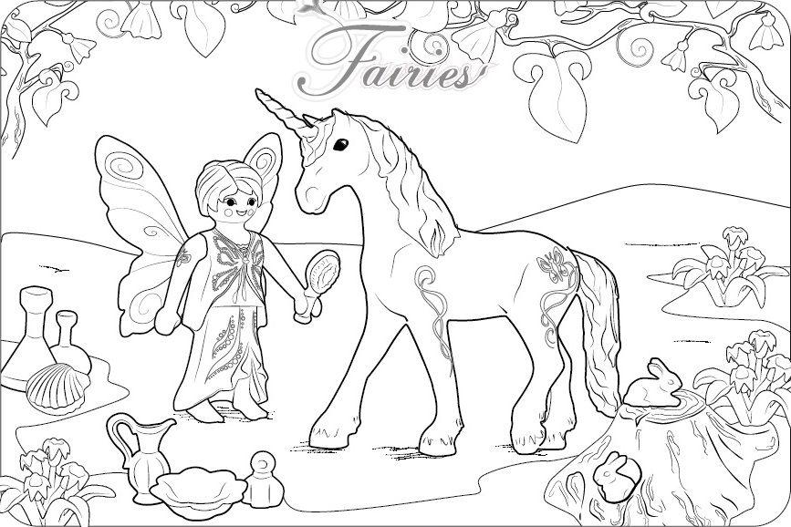 Playmobil Fairies Feen Ausmalbild 2 Jpg 867 578 Playmobil Ausmalbilder Ausmalbilder Ausmalen