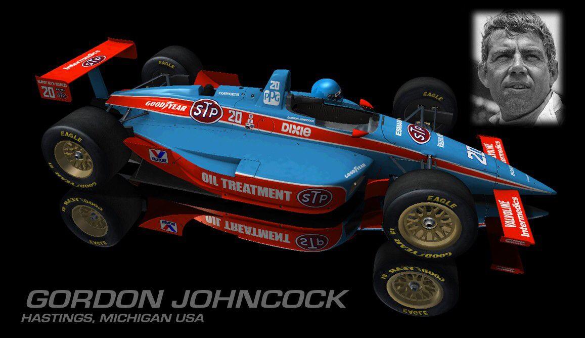 Gordon Johncock Indy cars, Racing, Michigan usa