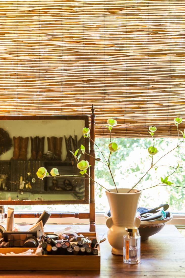 Bamboo house window design  tough glamor at home with a napa valley designer  garden fencing