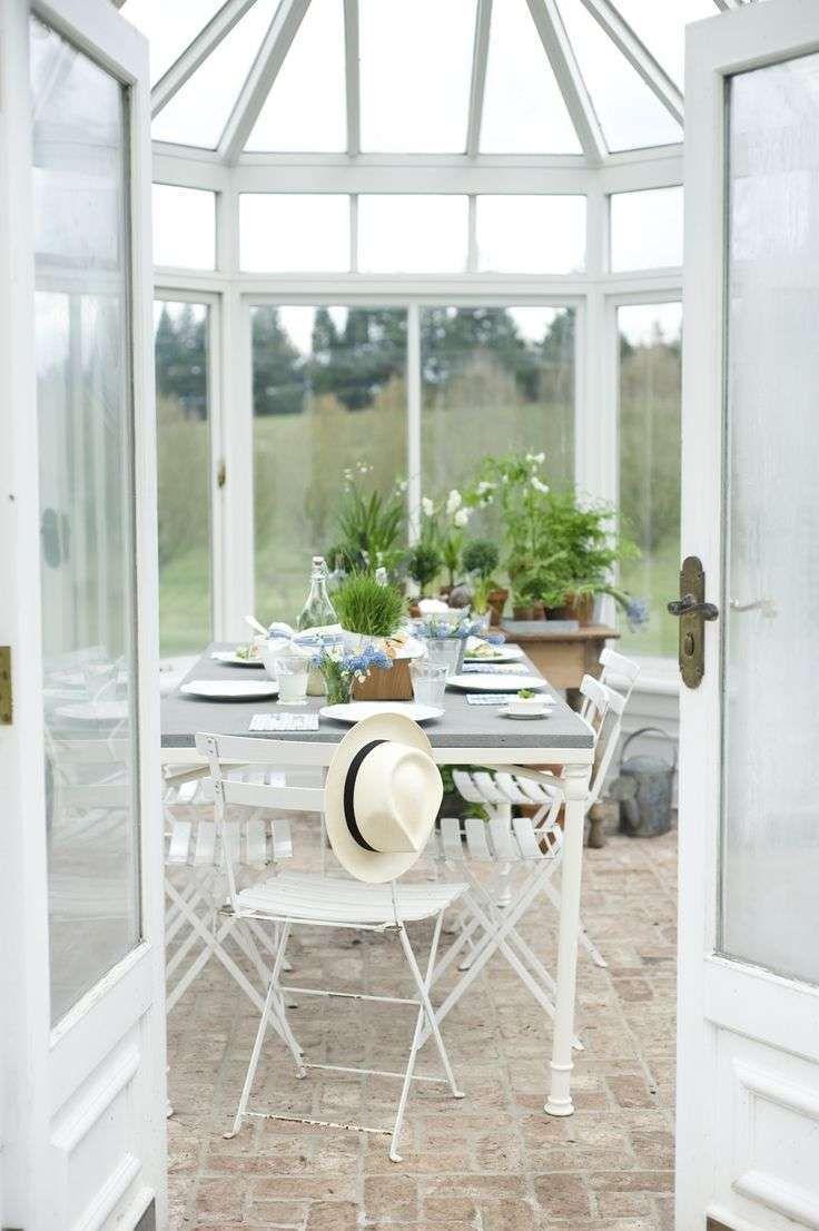 Come arredare la veranda in stile provenzale mobili da for Arredare la veranda