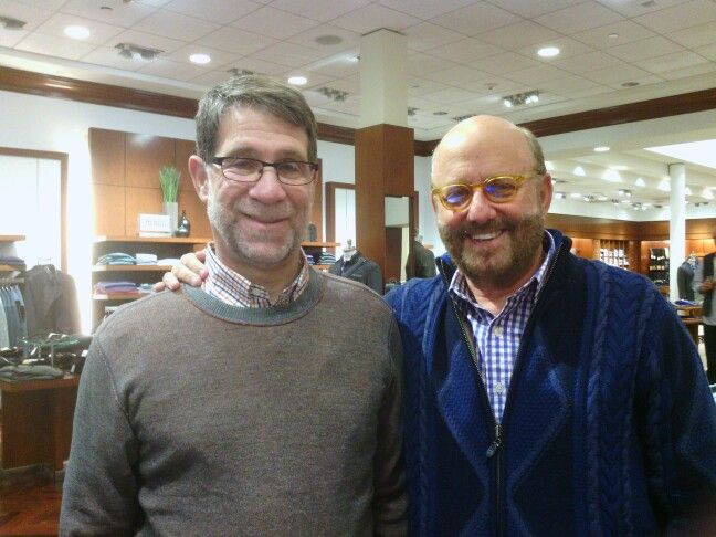 Steven Isaacs With Robert Stock Founder And Designer Of Robert Graham Fashion Mens Fashion Robert Graham