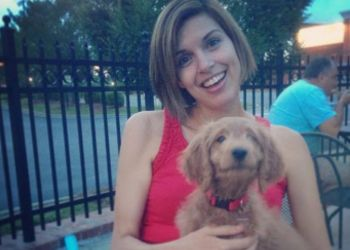 20 Pets To Perk You Up! - HomeWizards (photo: Actress Bridget Fitzgerald (@smileybridge) & her buddy, Linus)
