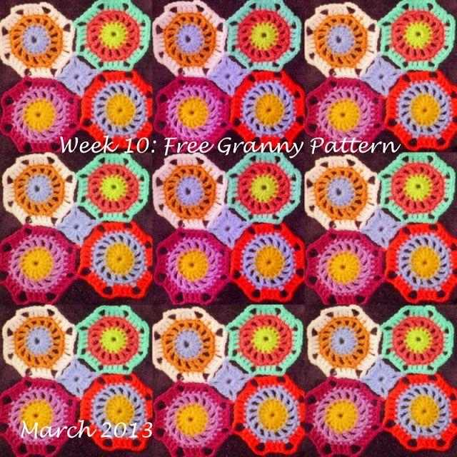 crochet el octágono de la abuela | Diseño flores y mas | Pinterest ...