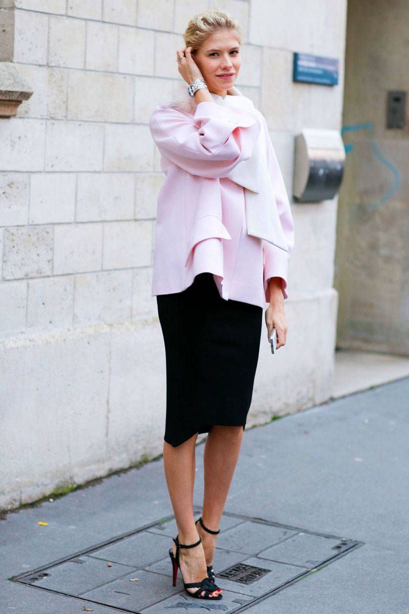 Street Style Paris Couture Week Spring 2014