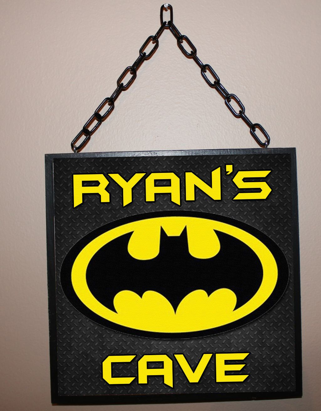 Custom Name Sign Batman Inspired / Personalized / by Berryhills ...