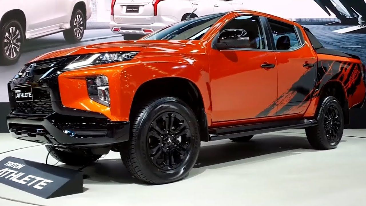 2020 Mitsubishi Triton Athlete New Exterior With A Sporty Flair
