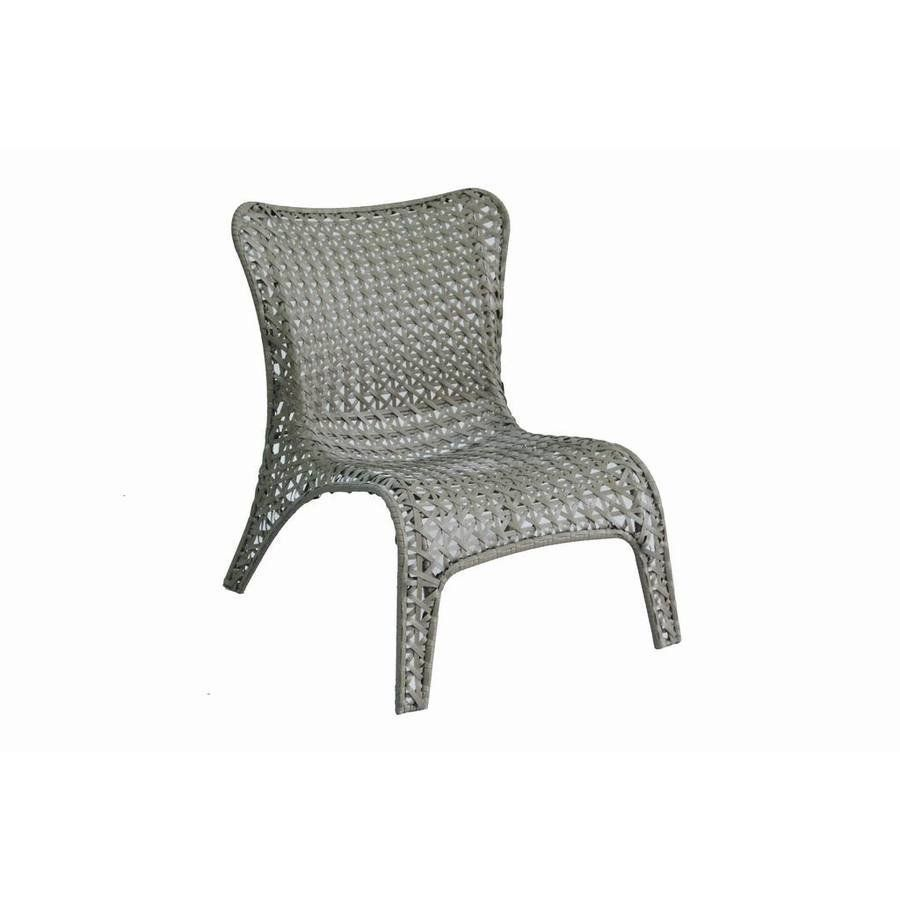Garden Treasures Tucker Bend Woven Patio Lounge Chair